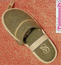 Victoria's Secret Slippers Heather Grey Size Medium M 7 8 Victorias Secret