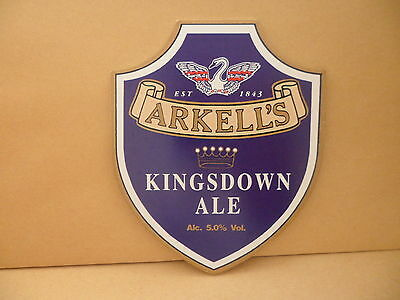 Sonstige Bier & Brauerei Arkells Kingsdown Ale Bier Pumpe Clip Gesicht Pub Bar Sammlerstück 113 Rheuma Lindern