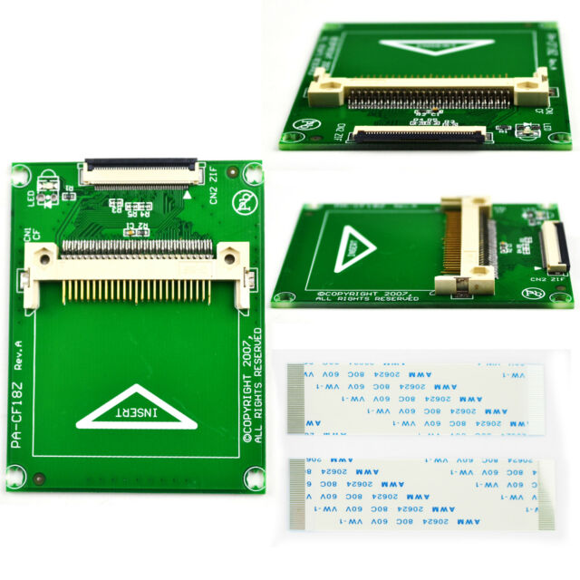 1.8inch 40pin ZIF CE Interface HDD SSD to CF 50pin Adapter Card for Toshiba