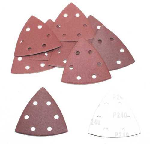 150 Blatt Delta Schleifpapier 93x93x93 mm Haftschleifpapier K240 Schleifscheiben