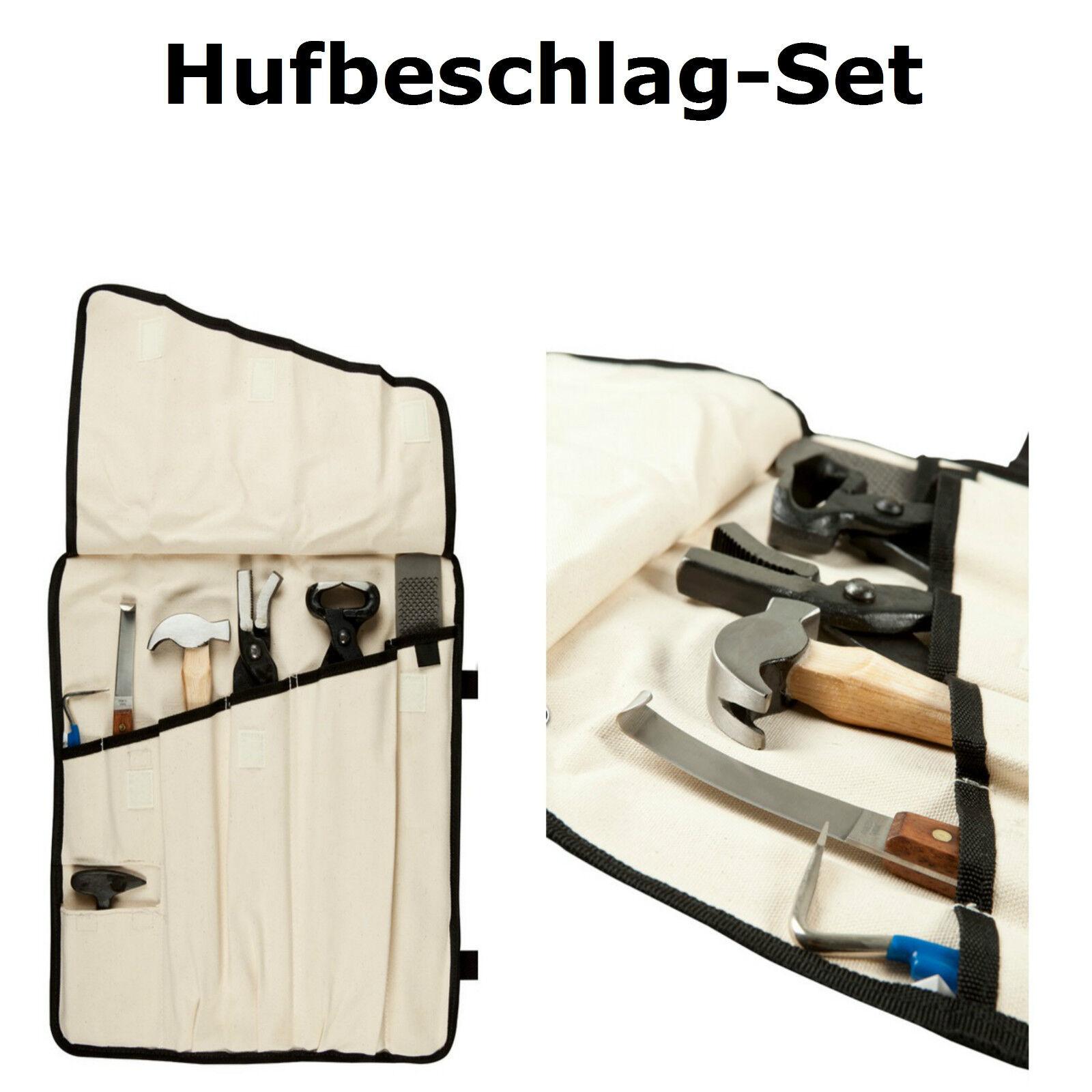 Beschlagset Hufbeschlagset Hufbeschlag Hufpflege Barhufpflege Schmied