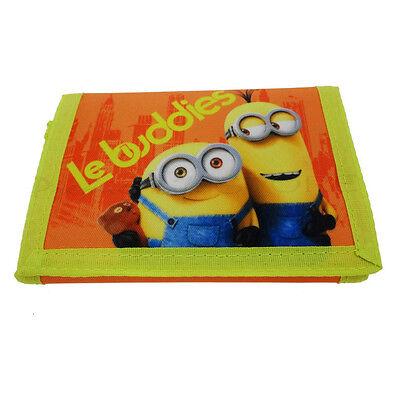 Disney Cattivissimo Me Minion Le Buddies Kids Arancione Wallet Portamonete-mostra Il Titolo Originale