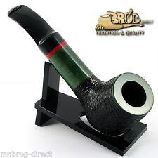 """OUTSTANDING Mr.Brog original smoking pipe nr.51 GREEN black carved """" AMIGO """""""