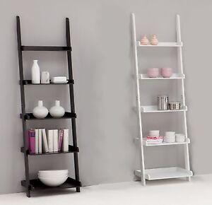 Ben-Display-shelving-Ladder-Shelf-2-Colours-5-tier