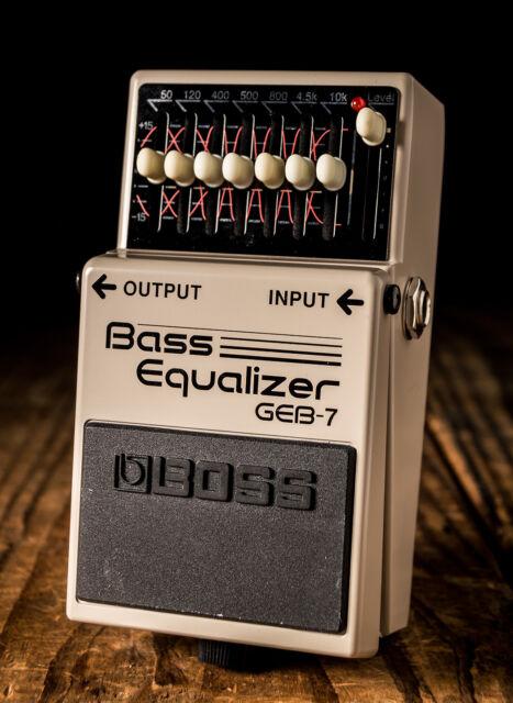 boss geb 7 bass guitar effect pedal for sale online ebay. Black Bedroom Furniture Sets. Home Design Ideas