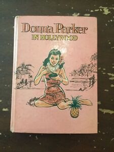 1961-Donna-Parker-In-Hollywood-by-Marcia-Martin-Whitman-Hardcover-Book