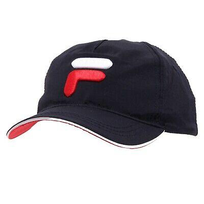 0064k Cappello Uomo Fila Blue Baseball Cap Man