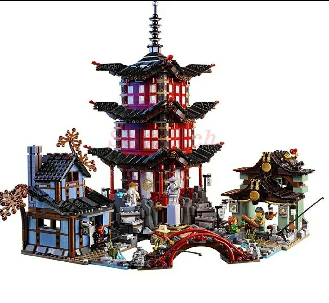 Ninjago Il Tempio Di Airjitzu  70751 100% LEGO Compatibile  NUOVO DHL