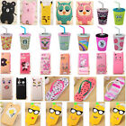 New 3D Cartoon Disney Soft Silicone Rubber Case Cover For iPhone Samsung LG Moto
