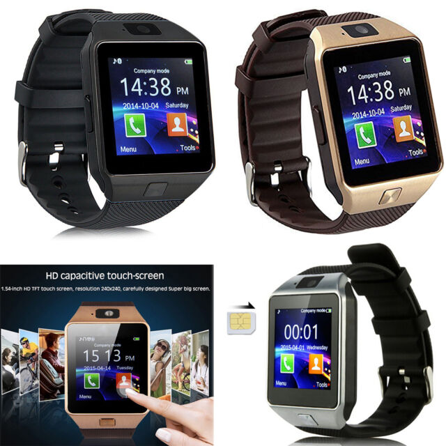 Bluetooth Smart Watch Phone Mate For Samsung S8 S7 S6 LG ZTE Android Smartphones