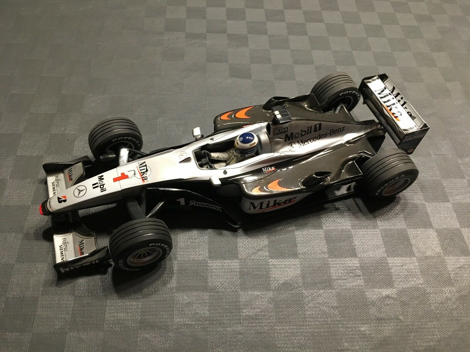 F1 McLaren-Mercedes MP 4 15, M. Hakkinen, 1 18, Pauls Model Art