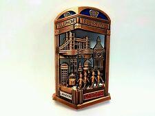 London Skyline Icons Fridge Magnet Bottle Opener UK British Souvenir Gurkin Bus