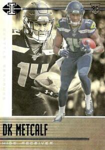 2019 DK Metcalf RC Panini Illusions #37 Seattle Seahawks Rookie Card