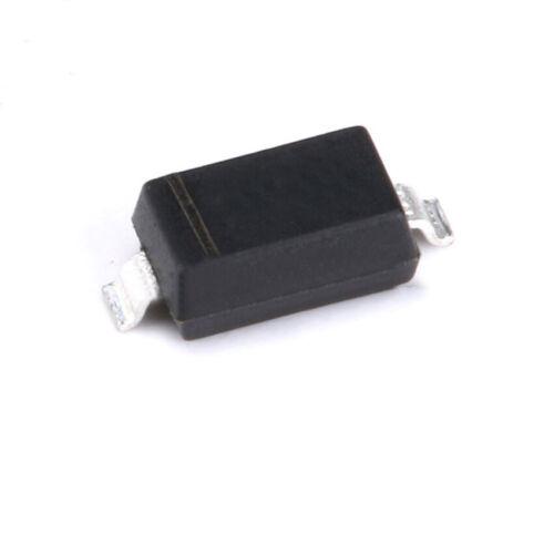 20//40//80//100Pcs 30V 200mA BAT43W Rectificador Diodo barrera de Schottky SOD-123 SMT