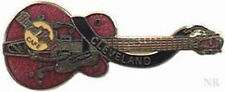 Hard Rock Cafe CLEVELAND 1998 Red Gretsch GUITAR PIN Catalog #1906