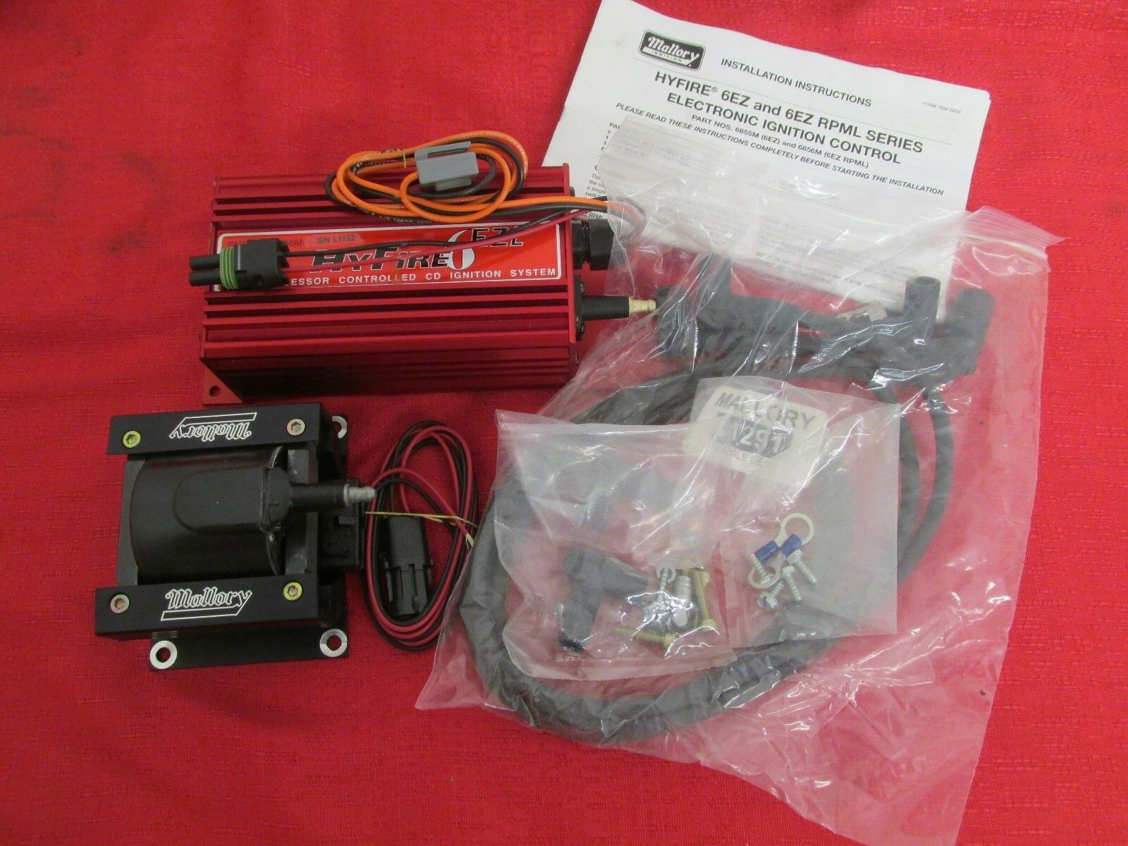 Mallory 6856m hyfire vi single stage digital cd ignition kit ebay resntentobalflowflowcomponenttechnicalissues publicscrutiny Image collections