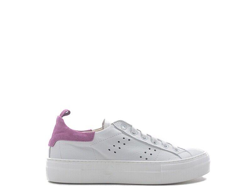 Zapatos mezzetinte señora Bianco naturaleza cuero GG-Fu