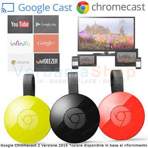 GOOGLE-CHROMECAST-3-0-HDMI-STREAMING-MEDIA-PLAYER-YOUTUBE-INFINITY-WiFi-ver-2019