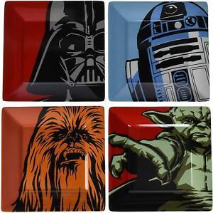 Estrella Wars Set 4 Melamina Gadget Darth Vader Yoda RD22 Película Disney 21C