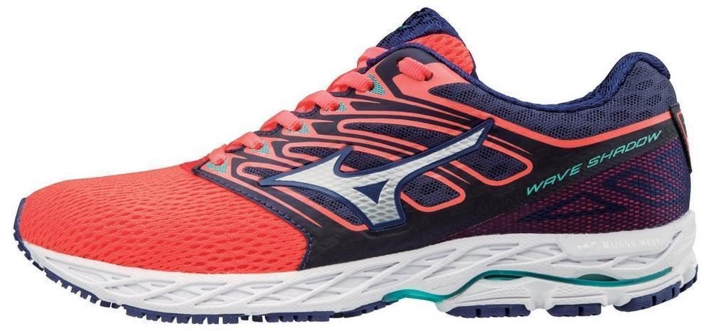 Mizuno 410941 1Z00 Wave Shadow Fiery Coral Women's Running shoes