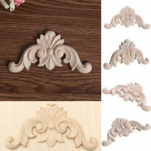Image Is Loading 1 5 10Pcs Decorative Wooden Applique Furniture Moulding