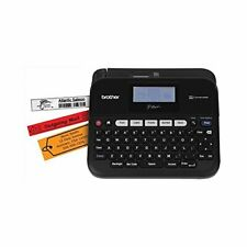 Brother P Touch Pc Connectable Label Maker Split Back Tape 7font Sizes One Touch