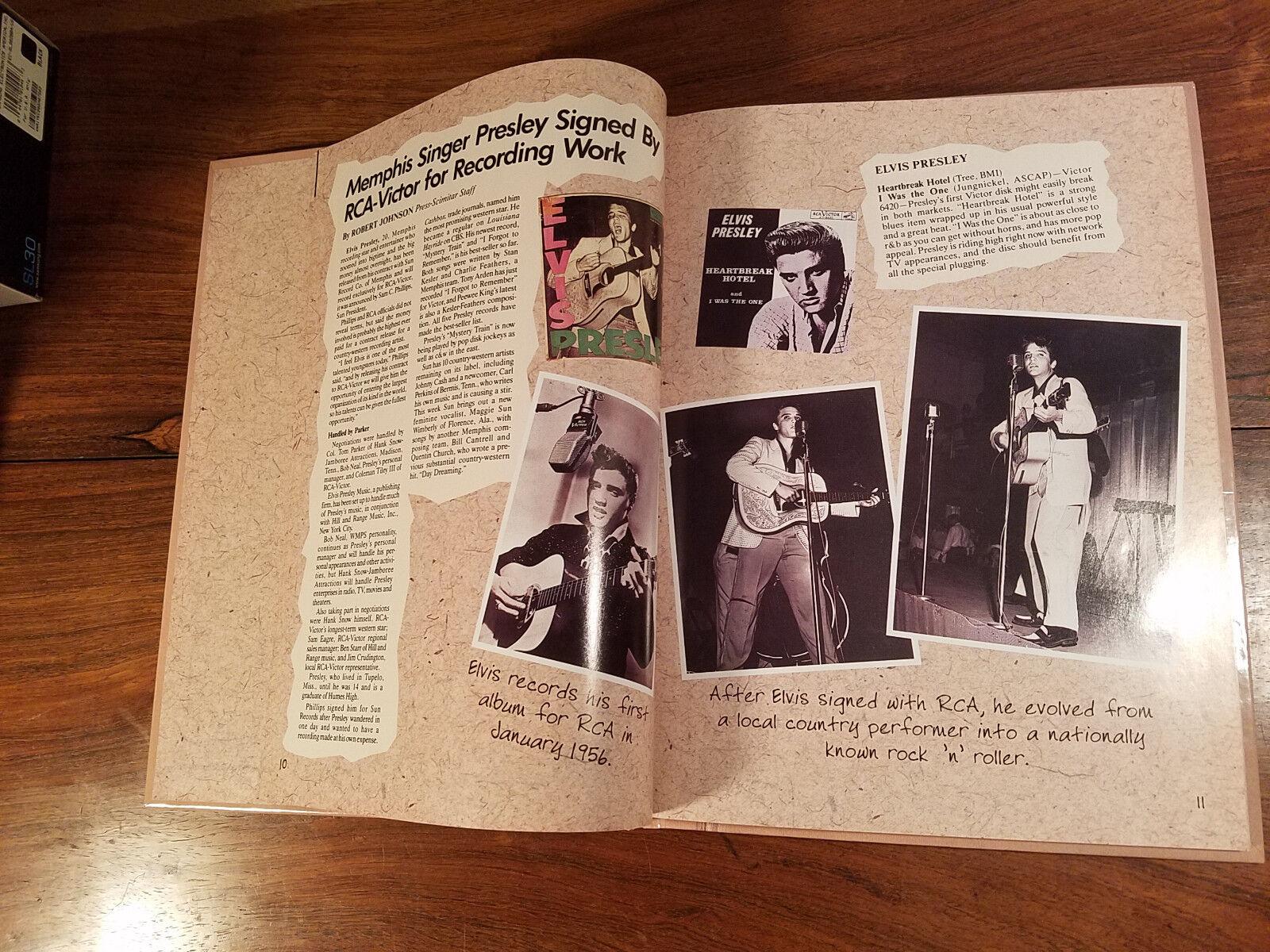 Elvis Presley Album 1997 Hardcover