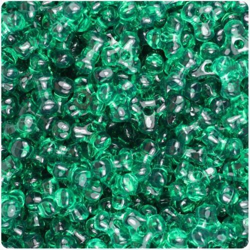 BeadTin Transparent 11mm TriBead Craft Beads Color choice 600pcs