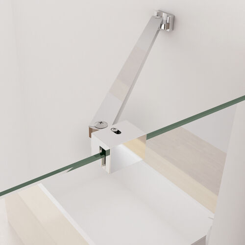 MIQU Duschkabine Eckeinstieg Dusche NANO Glas 90x90 80x80 100x100 90x75 80x100cm