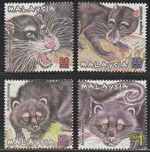 263-MALAYSIA-2000-PROTECTED-MAMMALS-II-SET-FRESH-MNH