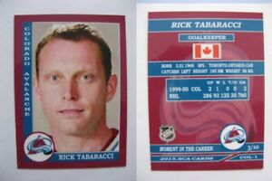 2015-SCA-Rick-Tabaracci-Avalanche-goalie-never-issued-produced-d-10-rare