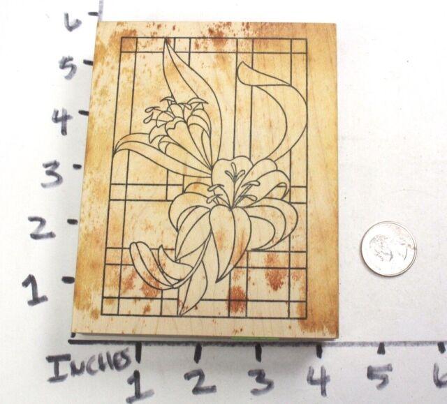 CELTIC CROSS IN CIRCLE Rubber Stamp InkaDinkaDo
