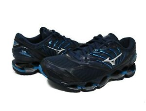 Mizuno-Men-039-s-Wave-Prophecy-8-in-BLUE-WING-TEAL-SILVER-BW73-Sz-8-12-New