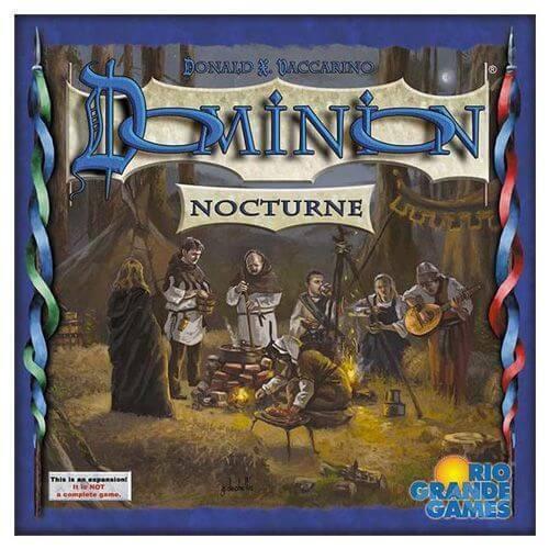 Dominion - nocturne brettspiel - neubau