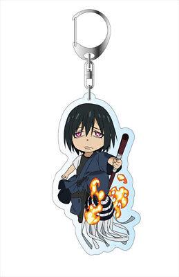 Fire Force Key Chain Clip Hook Shinmon Benimaru Keychain Key Pendant Key Buckle