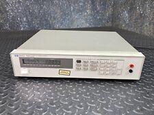 Hewlett Packard Hp 6632a Dc Power Supply 0 20v0 5a 100w