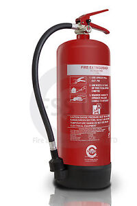 9-LITRE-WATER-FIRE-EXTINGUISHER-HOME-OFFICE-WORKPLACE-9L-9LTR-Bsi-KITEMARKED