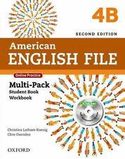 American English File 2E Multi-Pack Student Book Workbook Split 4B: with iChecke
