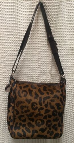 Christina 13 Print Fur Leather Geldbrse Purse Pelz Leopard Leder gqrPxAwga