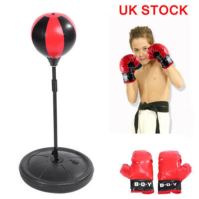 Latest Kids Free Standing Punch Bag Super Heavy Duty Boxing MMA Kick Stand.