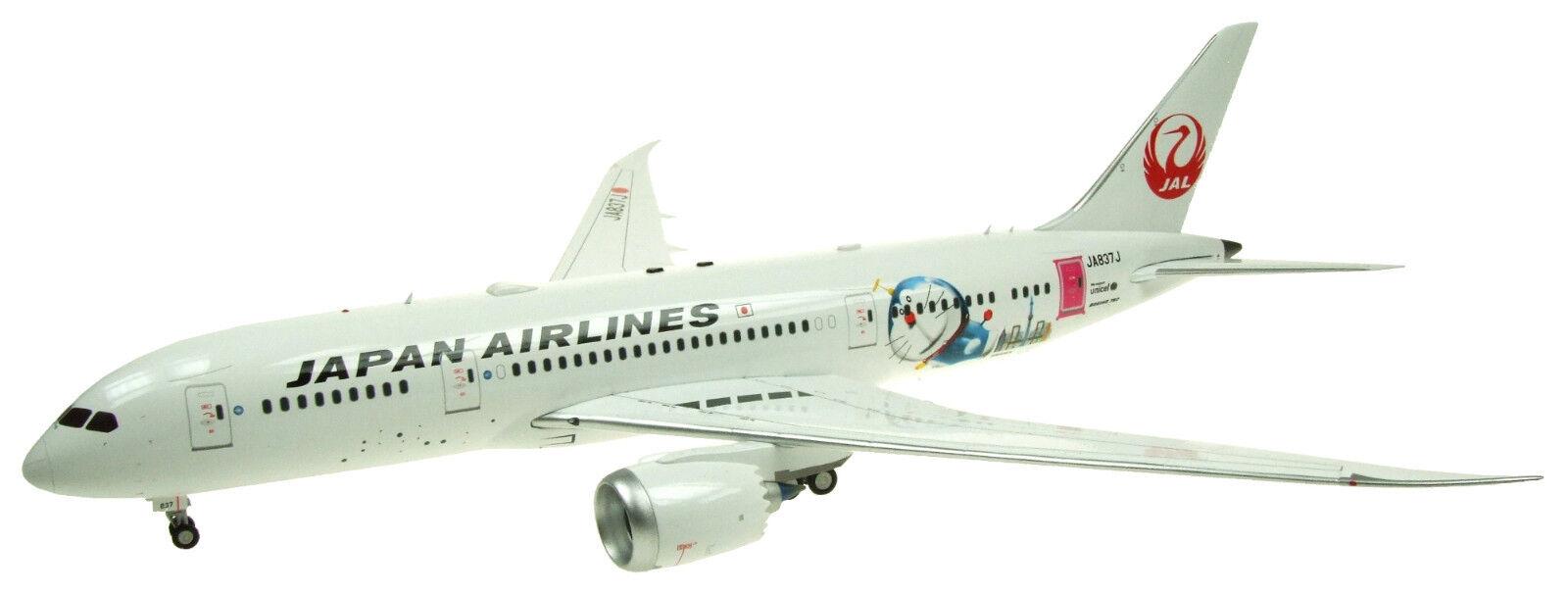 INFLIGHT 200 WB787837J 1 200 JAL 787-8 Dreamliner JA837J DORAEMON CON SUPPORTO