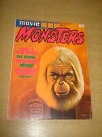 MOVIE MONSTERS #2 FN- (5.5) FEBRUARY 1975 DOC SAVAGE HORROR MAGAZINE (B)<