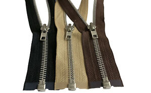 YKK-7-Aluminum-Metal-Separating-Zippers-for-Heavy-Duty-Jacket-Made-in-USA