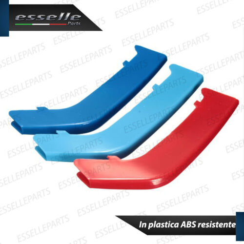SET COVER PER CALANDRA GRIGLIA BMW SERIE 5 E60 E61 IN STILE BMW M SPORT IN ABS