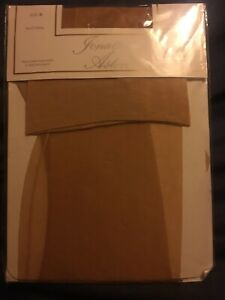 Jonathan-Aston-Natural-Ultra-Sheer-Stretch-Seam-n-Heel-Stockings-New-In-Packet