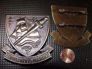 Insigne-de-beret-neuve-des-Commandos-de-Marine-fusilier-marin-commando