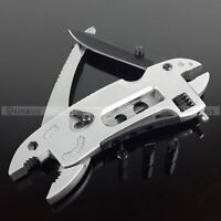 Fold Multifunction Pliers+wrench+screwdriver+knife Portable Survival Multi-tool