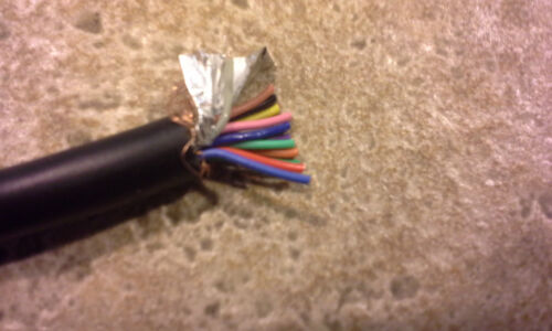 Kenwood Icom 13 Conductor SHIELDED Cable ACC Accessory Port Cable ~5 ft