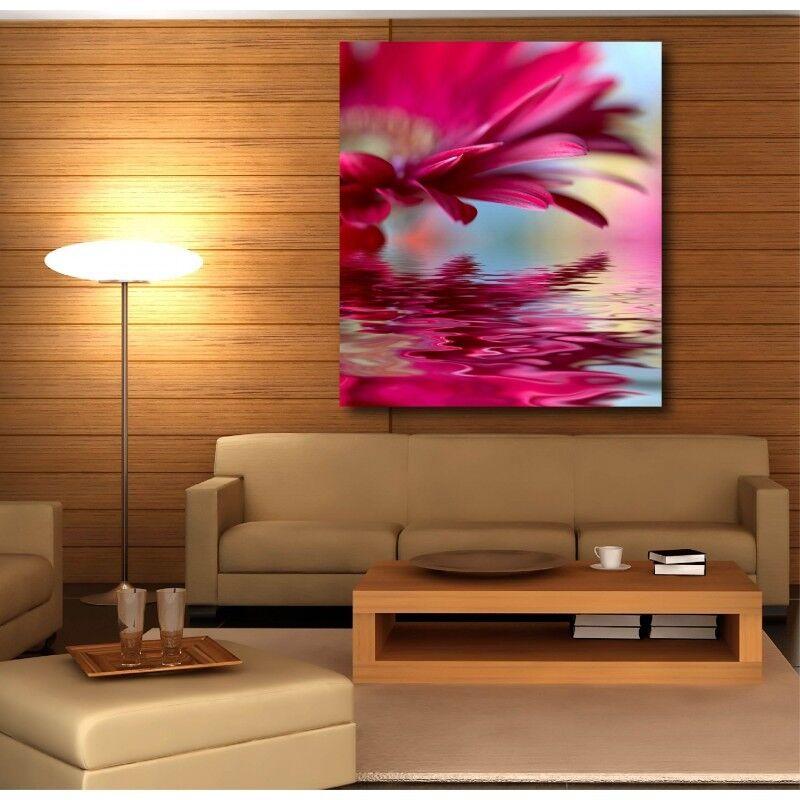 Tableau toile déco Fleur reflet 4996099