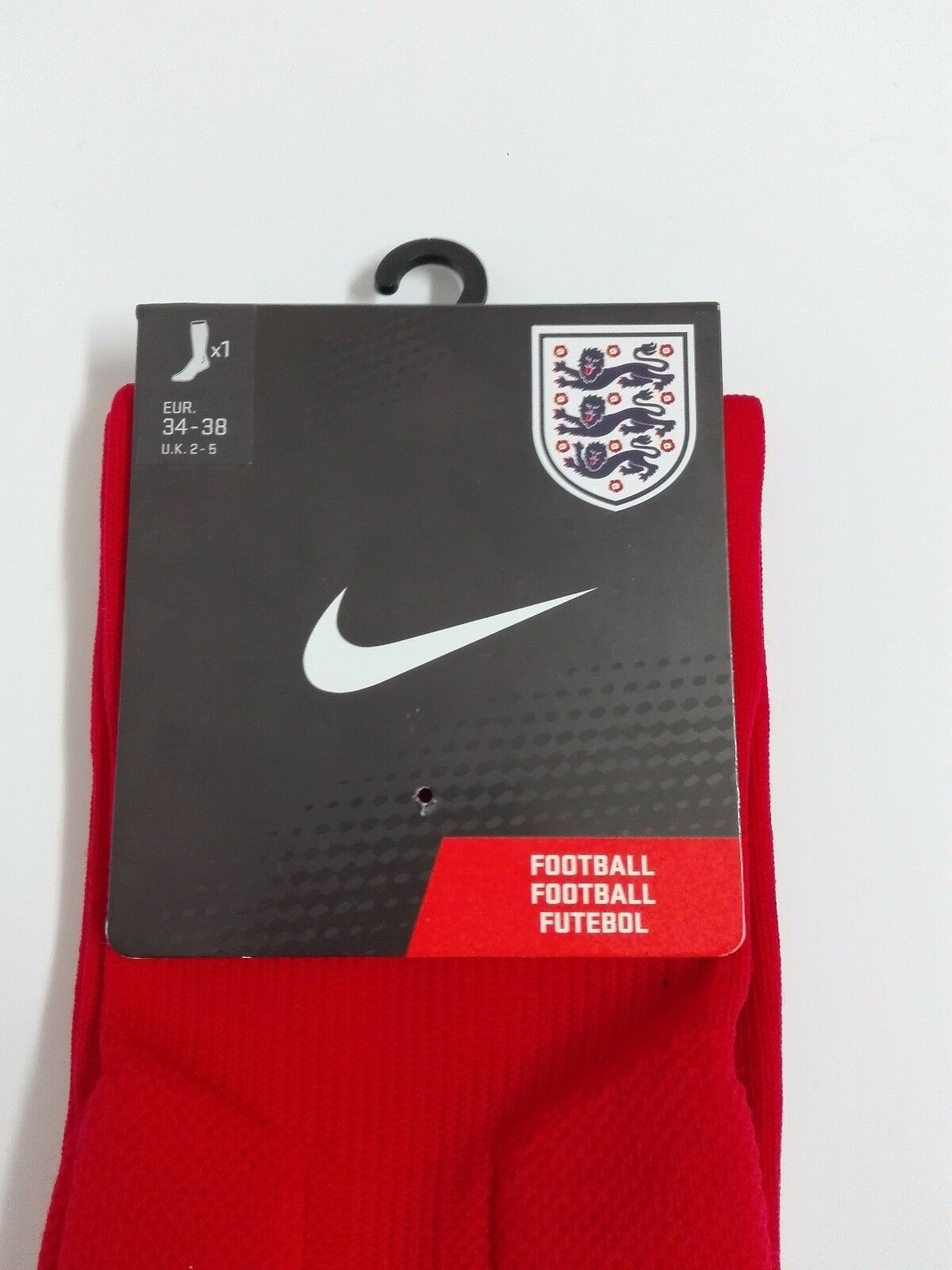 Chaussettes Chaussettes Chaussettes de Football Nike Officiel Sélection Anglais Angleterre Taille 2d2044